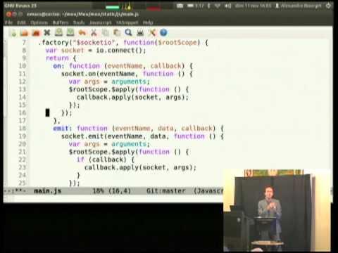 Image from Gevent-socketio, cross-framework real-time web live demo