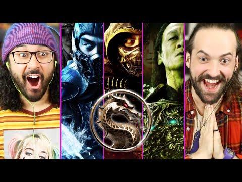 Mortal Kombat Movie NEW CHARACTER POSTERS &  COSTUME REVEALS   REACTION! (Scorpion, Sub Zero, 2021)