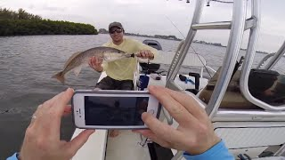 Day 3 of Fishing with Wounded Warrior Scott Lilley (Redfish, Snook, More Snook, & Sequence)