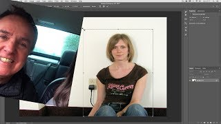How to control the size, shape and perspective of part of an image in Photoshop