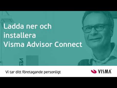 Ladda ner och installera Visma Advisor Connect till Visma Advisor