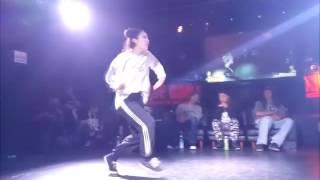 OSAKA the game HIPHOP battle _ MINI dancer clip
