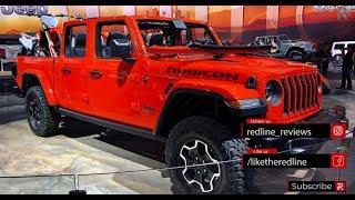 2020 Jeep Gladiator – Redline: First Look – 2018 LA Auto Show width=