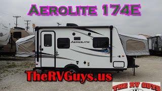 Super Light Hybrid Travel Trailer! Fun For Your Family Of Six!  |  2017 Aerolite 174E