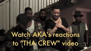 "AKA's reactions to ""THA CREW"" by LAYLIZZY"