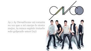 """CNCO  """"Devuélveme Mi Corazón"""" Live In Time Square"""