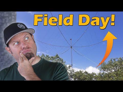 ARRL Field Day 2021 from Texas | Ham Radio Field Day