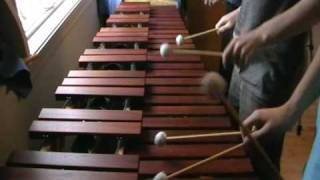 Zelda Ocarina of Time - Song of Storms on Marimba