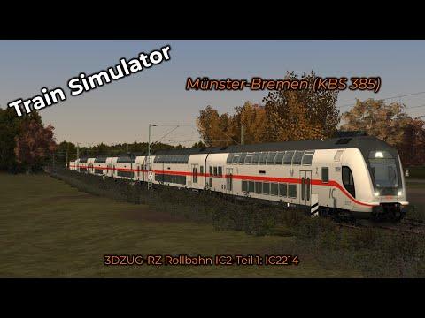 3DZUG-RZ Rollbahn IC2-Teil 1: IC2214