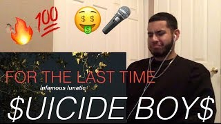 $UICIDE BOY$ - FOR THE LAST TIME | REACTION