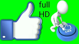 my new youtube channel like batton Like Button Green Screen Create a Like Button  download free