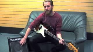 Joyo 35 Watt Bass Amplifier Demo