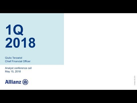 Allianz Group Analyst conference call on 1Q 2018