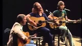 Teach your Children - Crosby, Stills and Nash (Live with lyrics)