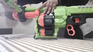 Review Nerf Zombie Strike Dominator