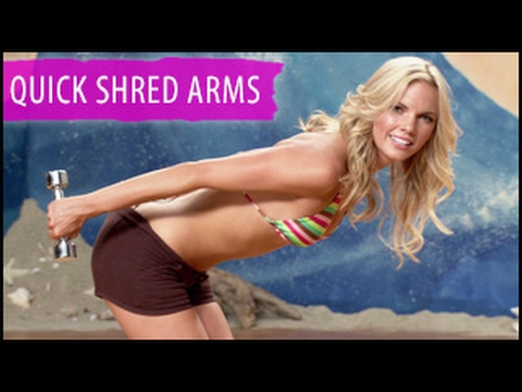 Quick Shred 5 Minute Arms Workout: Surfer Girl