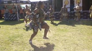 Vumile Mngoma performance at the Satmaawards Cultural pharade
