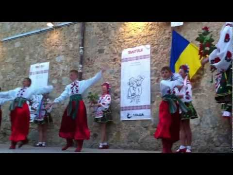 "Ukraine ensemble ""Diana"" at Festival Internacional de Folclore ""Alegria"" 25 June-02 July 2011"