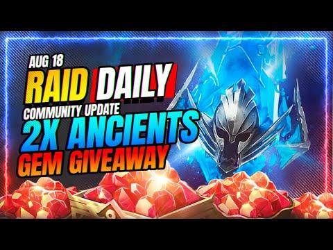 💎GEM GIVEAWAY! The Lvl100 Offer is  JOKE! | RAID Shadow Legends
