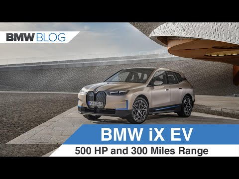 First look at the BMW iX Electric SUV