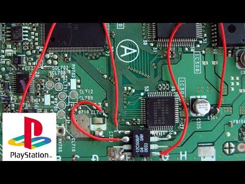 El CHIP de mi PSX - PlayStation 1 - Luciano OnFire