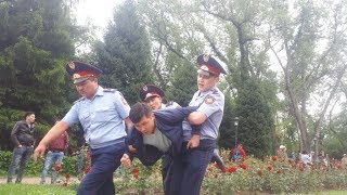 Казахстан: выборы задержания.