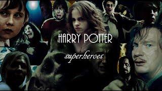harry potter || superheroes