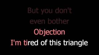 Shakira -  Objection - karaoke lyrics
