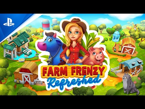 Farm Frenzy: Refreshed - Release Trailer | PS4