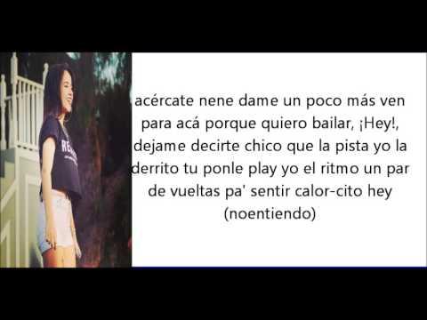 All Through The Night En Espanol de Becky G Letra y Video