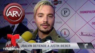 J Balvin defendió a Justin Bieber por olvido de canción | Al Rojo Vivo | Telemundo
