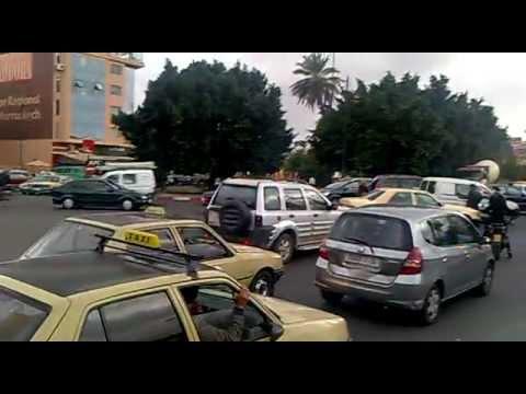 Traffic in Marakesh – Morocco / Marakesz Maroko