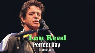 Lou Reed - Perfect Day (Karaoke)