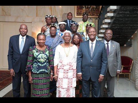 Entretien avec sa Majesté Nanan Akoua Boni II, Reine du Royaume Baoulé