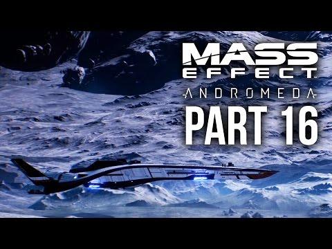 MASS EFFECT ANDROMEDA Walkthrough Part 16 - H-047c (Female) Full Game