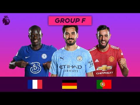 Premier League Stars at Euro 2020 | Group F | Kanté, Gündoğan, Fernandes
