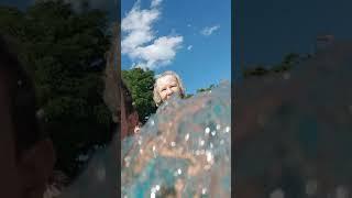 In Schwimmbad mit mein Handy s8