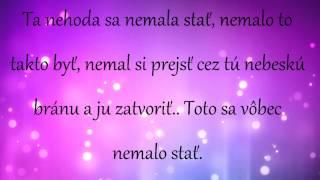 Gamba ft. Mya - Dali ti krídla (text)