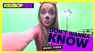 KIDZ BOP Kids - Don't Wanna Know (Official Music Video) [KIDZ BOP 34]
