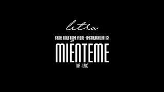 CRUZ CAFUNÉ · HATHI - MIÉNTEME (LETRA)