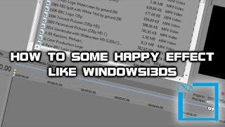 How to Some Happy Effect Like Windowsi3ds (WRONG BET IT.)