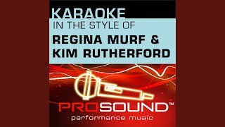 Blessing, Glory And Honor (Karaoke Instrumental Track) (In the style of Regina Murf and Kim...
