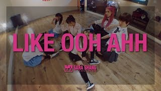 """TWICE """"OOH-AHH하게(Like OOH-AHH)"""" 不良少女版 Dance Practice (Cover by Sara Shang + Super Sweet students)"""