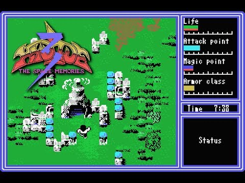 HYDLIDE 3 for MSX1 Lo・・・