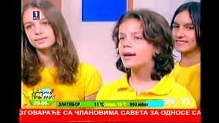 Aleksa Dinic (10) & Hor Kolibri - PLANETA (Jutarnji program RTS 1)