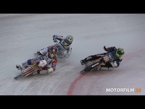 2019-01-12 FIM Ice Speedway World Championship, Qualifying Round 1, Örnsköldsvik, Sweden, Heat 12