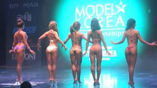 Musclemania Fitness Korea Sports Model Bikini Model Competition Body Profile Video 여자 스포츠모델 비키니 2조