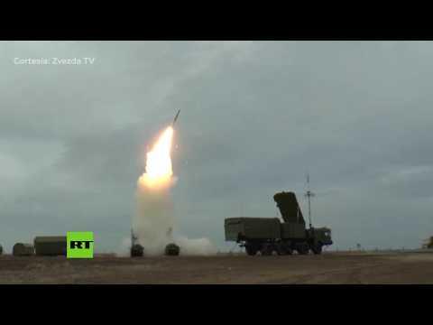 Rusia prueba sus sistemas de misiles antiaéreos S-300 y S-400