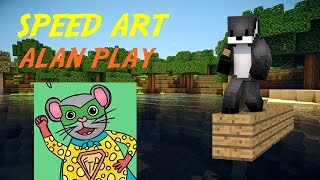 SPEED ART YOUTUBER | ALAN PLAY