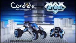 Max Vehicle - Max Steel - Candide Brinquedos